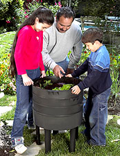 worm composters in the north...bring them inside.