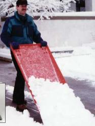 Snow Scoop in action
