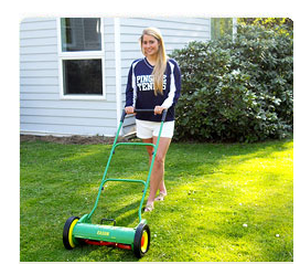 Naturcut push reel mower