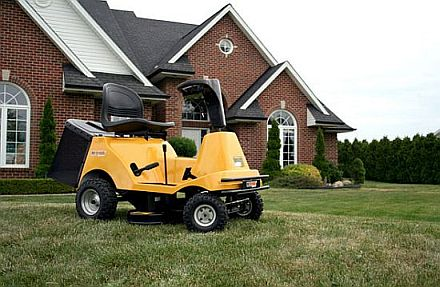 Riding Recharge Mower